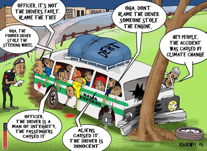 Funniest Nigerian Political Cartoons 2018